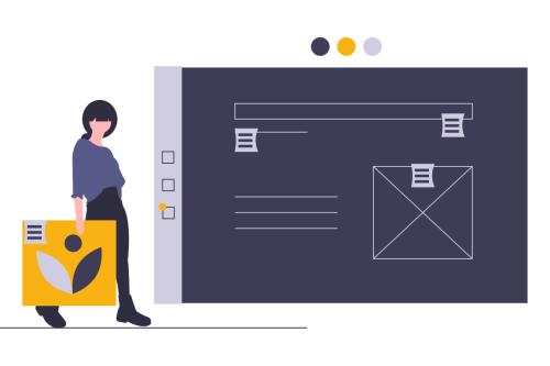 Graphic design project brief